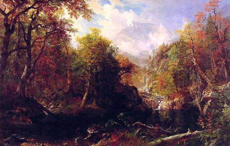 Albert Bierstadt The Emerald Pool